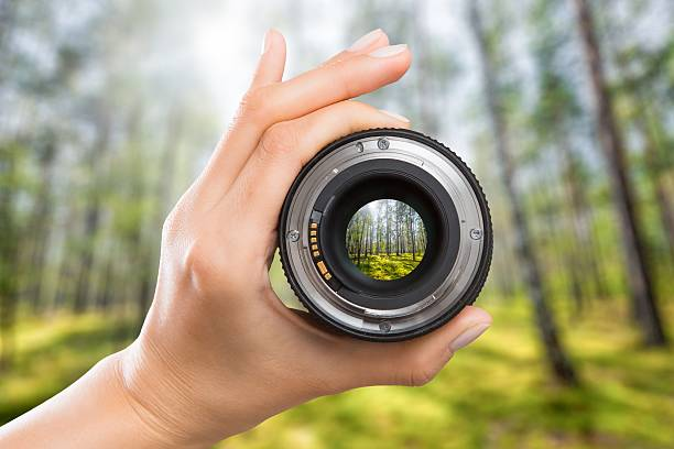 photography camera lens concept. - image focus technique stock pictures, royalty-free photos & images