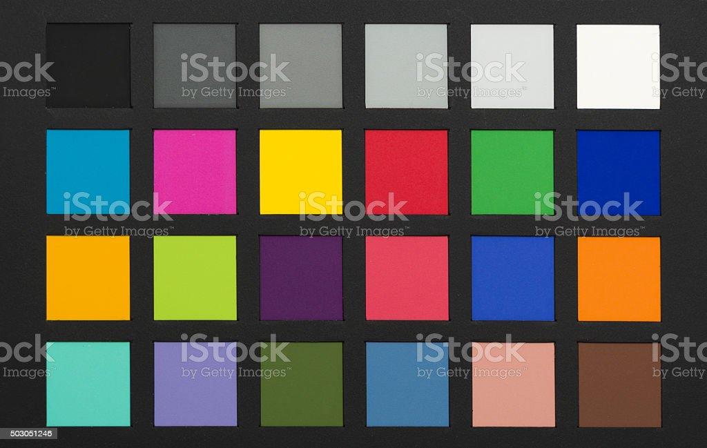 Photography Colour Chart Stock Photo Istock