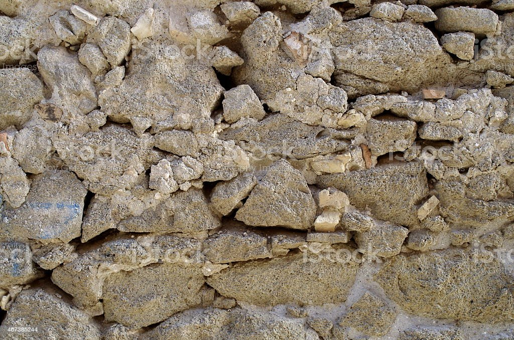 Photography of a Stone Wall stock photo
