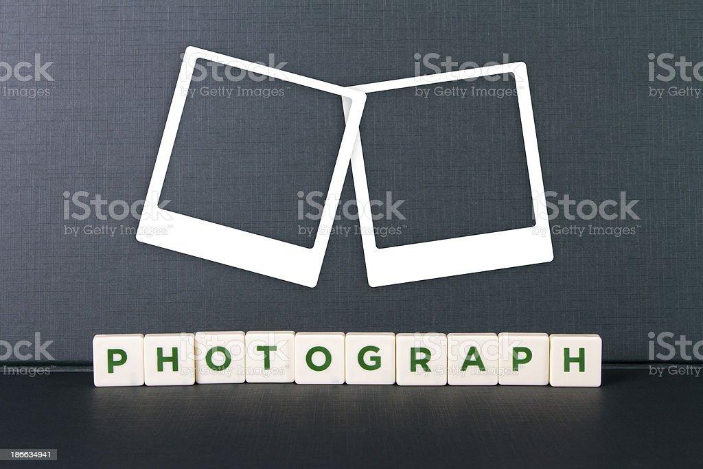 Parola E Foto Cornici Per Foto Fotografie Stock E Altre Immagini