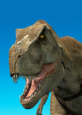 Photorealistic 3d Rendering Of A Tyrannosaurus Rex Stock Photo - Download Image Now