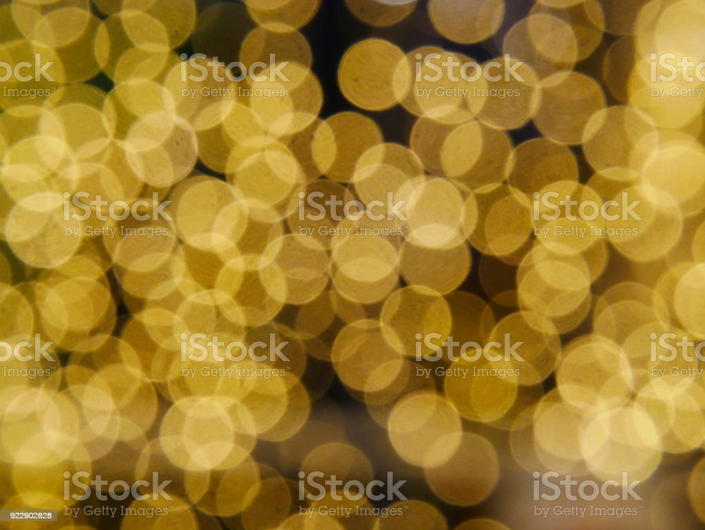 Gold, Christmas, Glitter, Christmas Lights, Confetti
