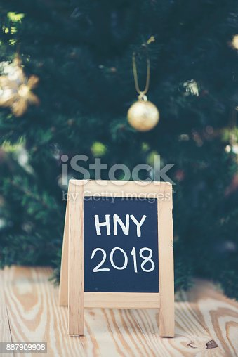 istock Photos for celebrating the New Year 2018. 887909906