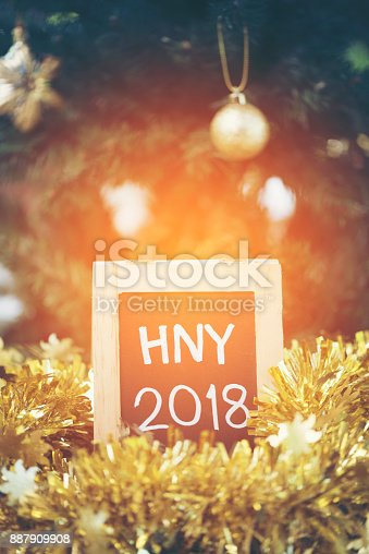 istock Photos for celebrating the New Year 2018. 887909908