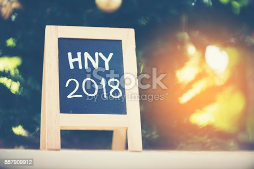 istock Photos for celebrating the New Year 2018. 887909912
