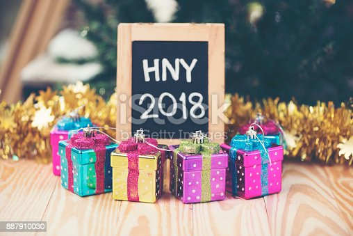 istock Photos for celebrating the New Year 2018. 887910030