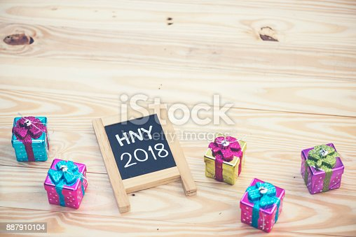 istock Photos for celebrating the New Year 2018. 887910104