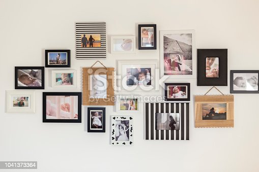 istock photos of the family in various photo frames 1041373364