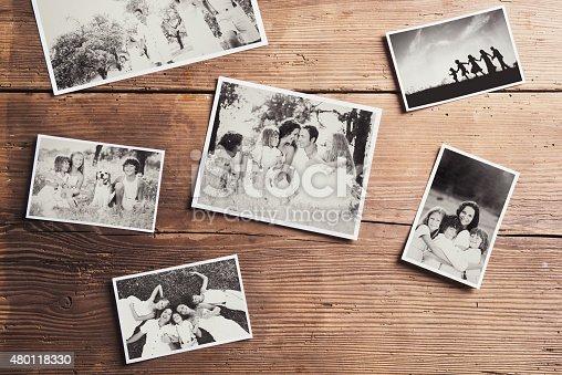 istock Photos on a table 480118330