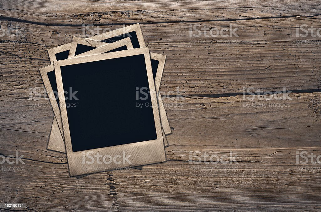photos on wall royalty-free stock photo