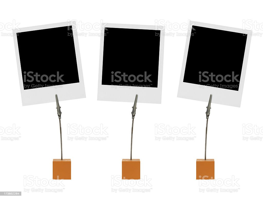 Photos with clips stock photo