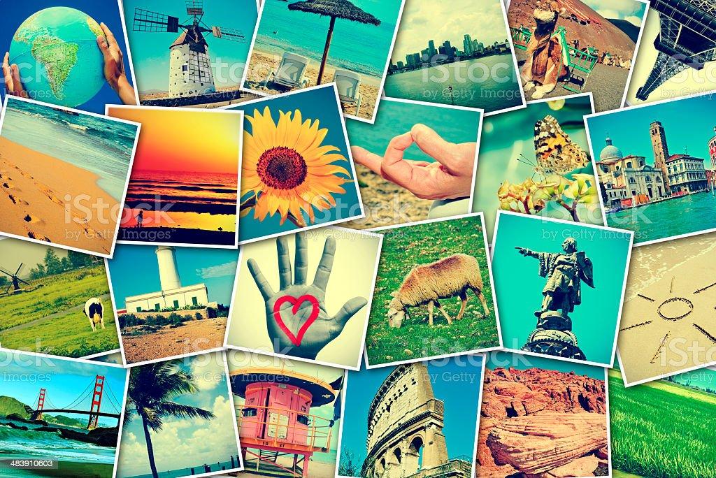 photo-sharing stock photo