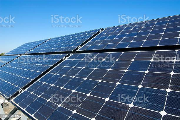 Photovoltaic Boards Stock Photo - Download Image Now