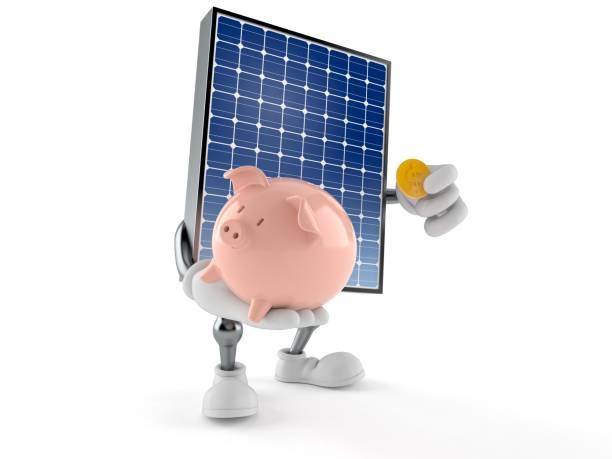 Photovoltaic panel character holding piggy bank picture id1131013384?b=1&k=6&m=1131013384&s=612x612&w=0&h= 5mqn39mpqmxeqto8ibcpocv57jh4wazcqadkeaik3m=