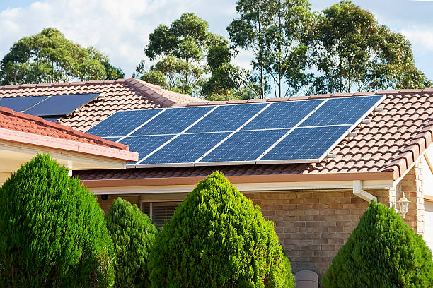 Photovoltaic panels Photovoltaic panels solar panels photos stock pictures, royalty-free photos & images