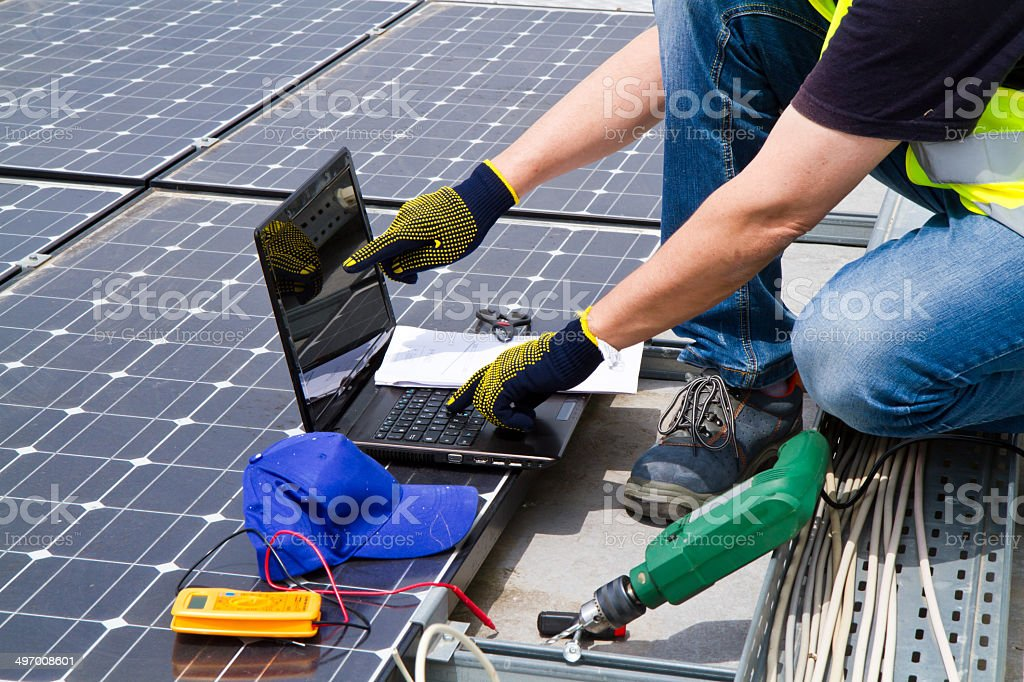 photovoltaic royalty-free stock photo