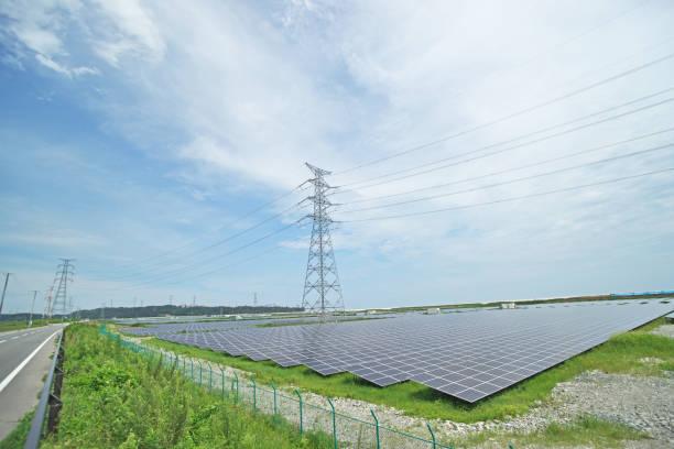 Photovoltaik-Kraftwerk – Foto