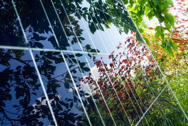 Photovoltaik-Solarpanel – Foto
