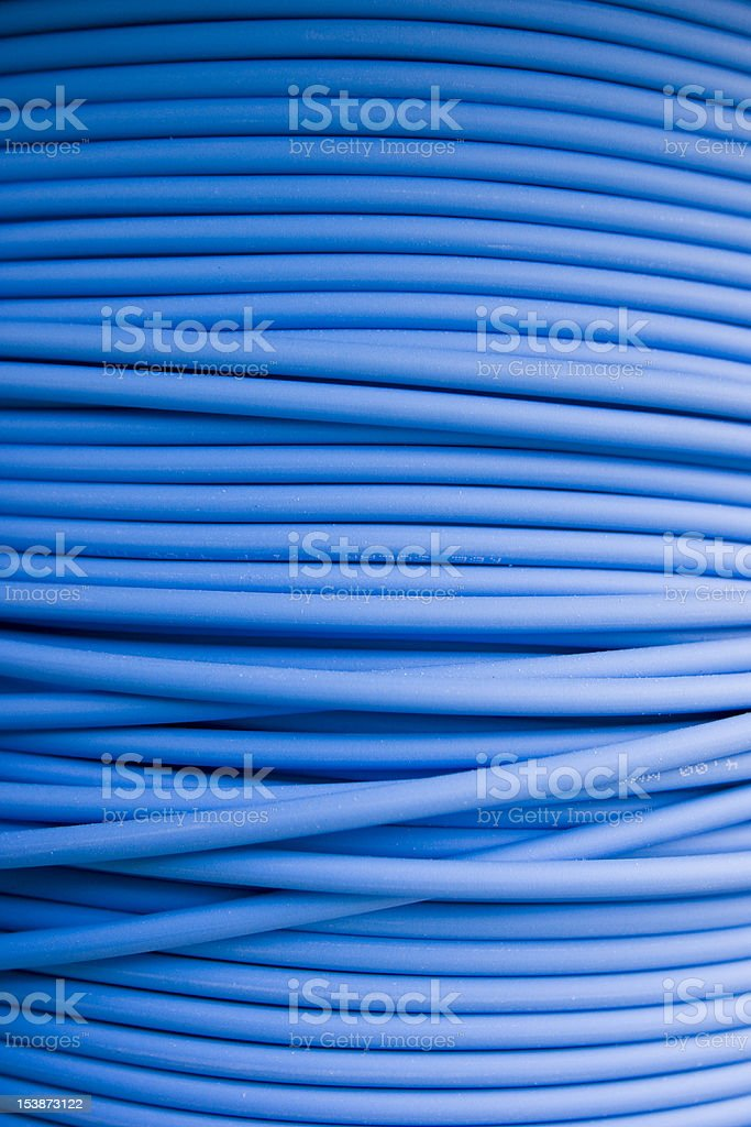 Photovoltaics cable stock photo