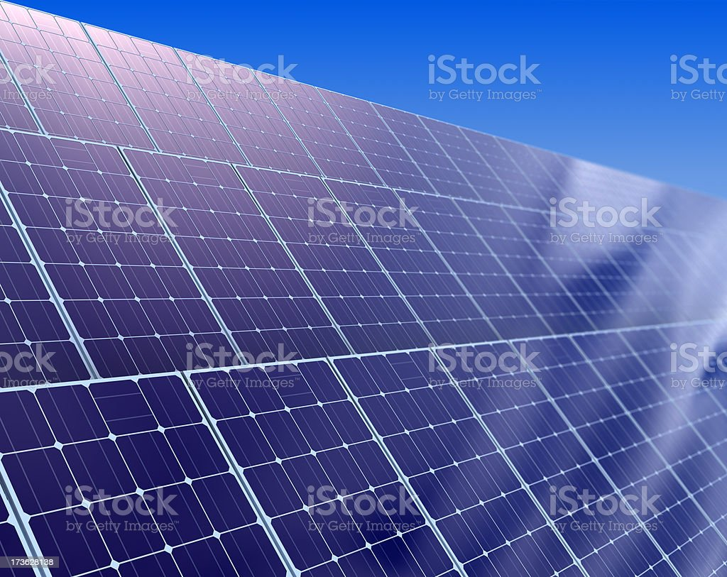Photovoltaics royalty-free stock photo