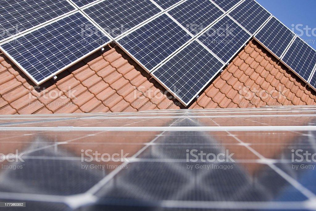 Photovoltaics stock photo