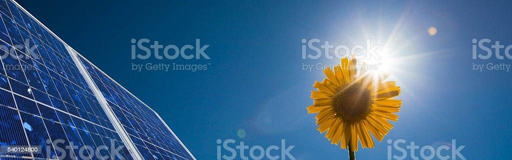Photovoltaik Panels stock photo
