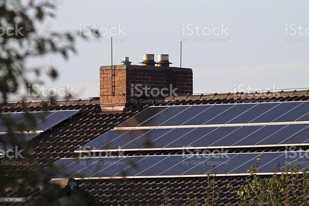 Photovoltaikanlage stock photo