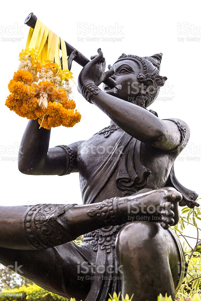 Phra Apai Mani at The Statue of Sunthorn Phu stock photo