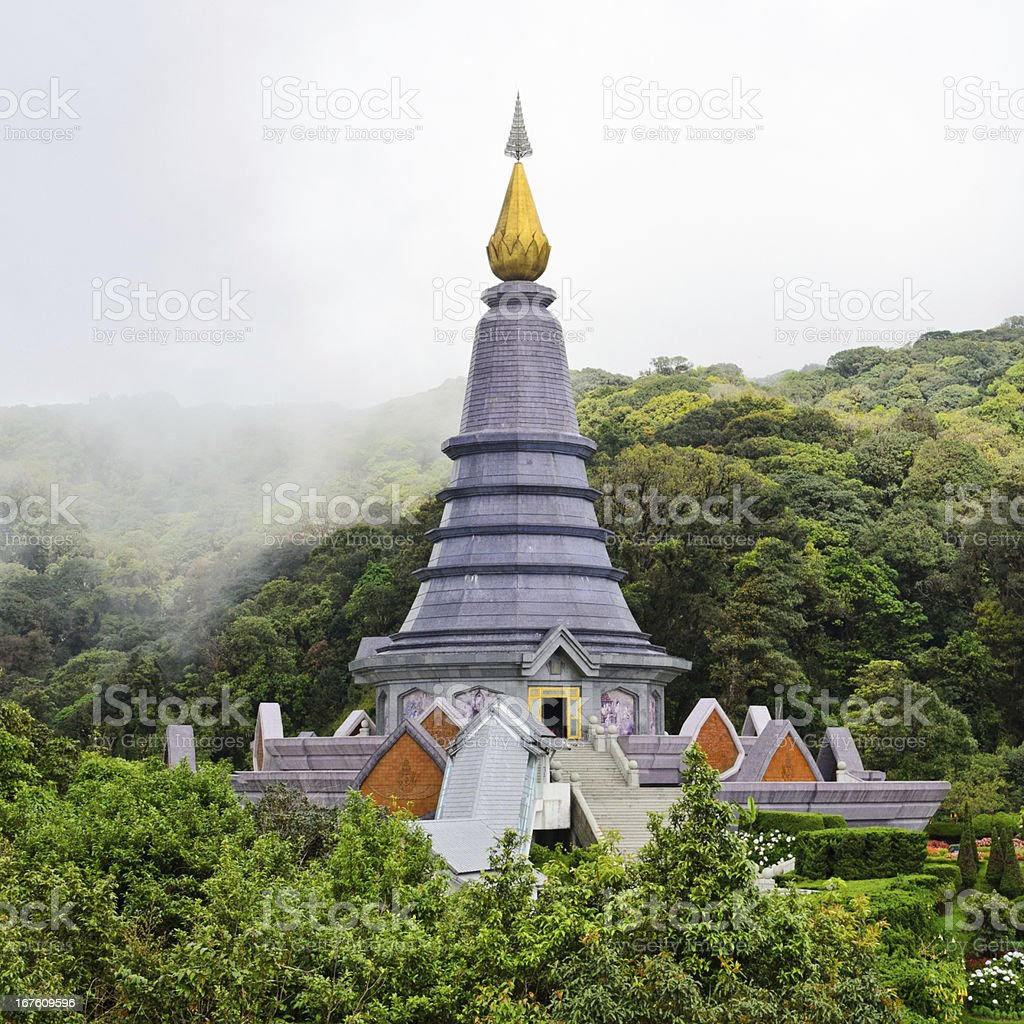 Phra Mahathat Napapolphumisiri temple. royalty-free stock photo