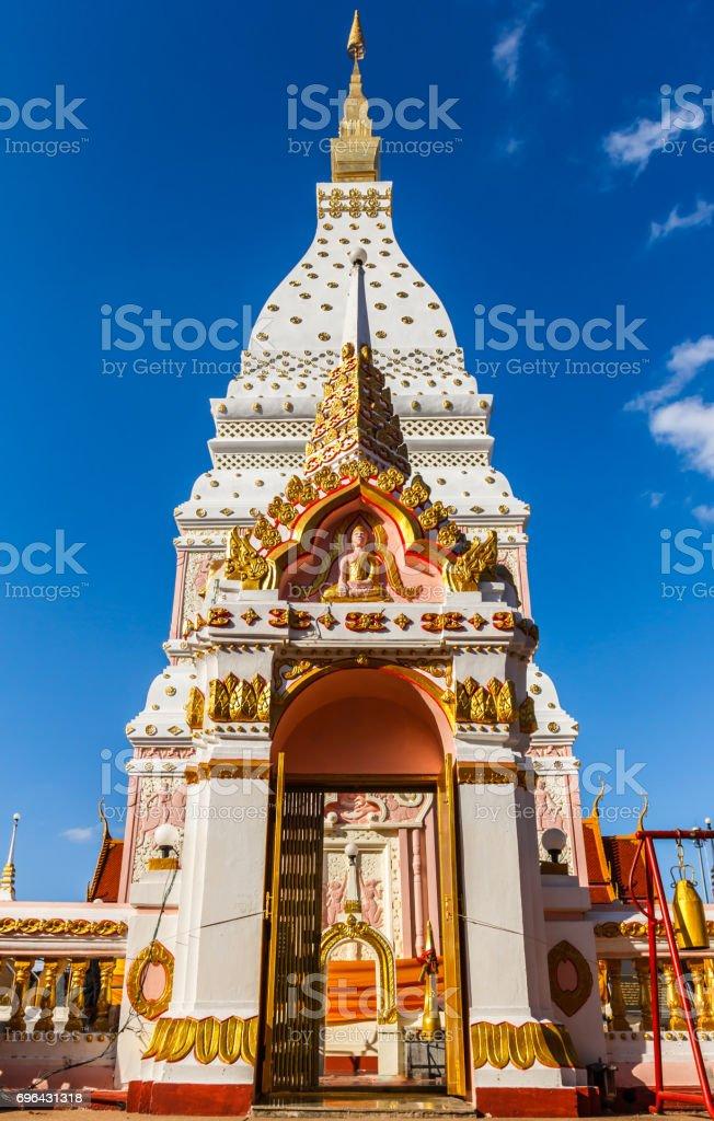 Phra That Renu Nakhon stock photo