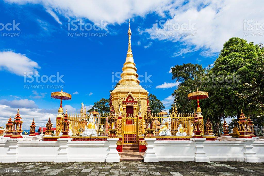 Phra That Wai Dao stock photo