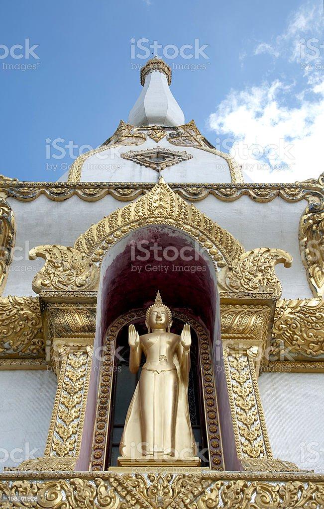 Phramahajedi Chaiyamongkol at 로이엣 태국 royalty-free 스톡 사진