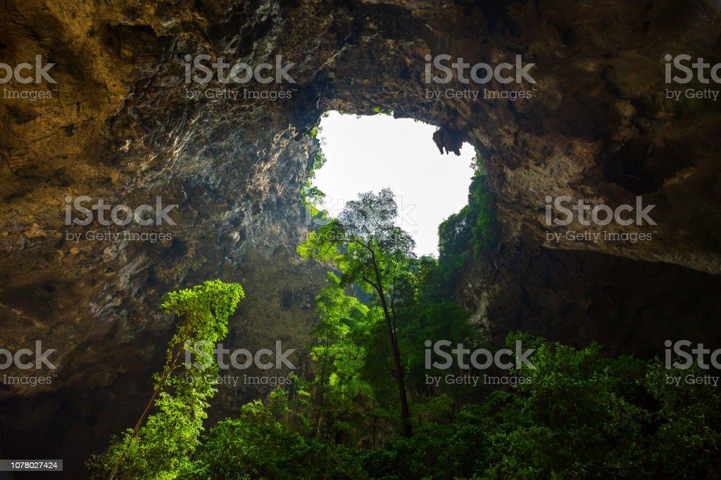 Phraya Nakhon Cave In Thailand stock photo