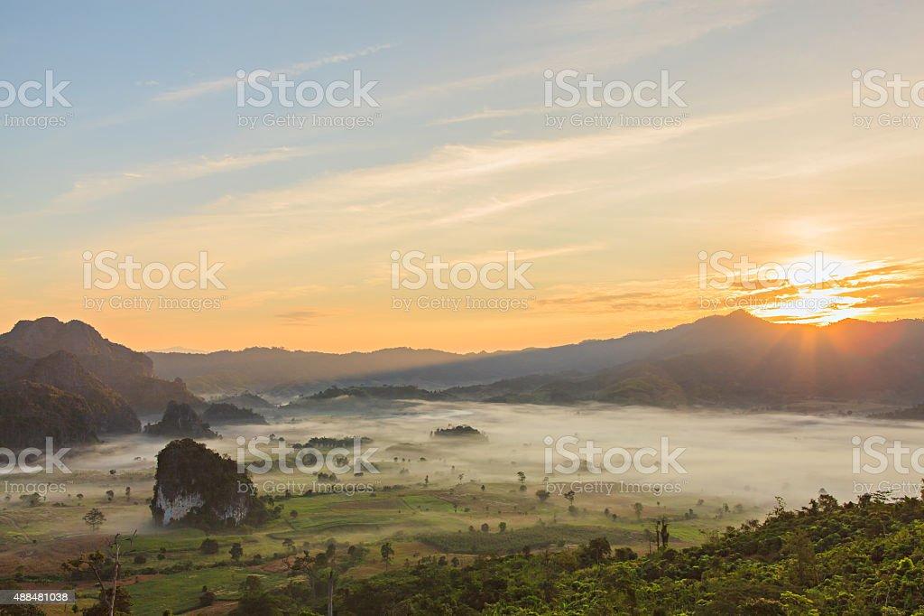 Phu Lanka , Phayao , Thailand , stock photo