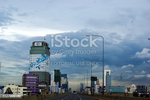 istock Phuket City in Thailand, streets and buildings of the city 1127993486
