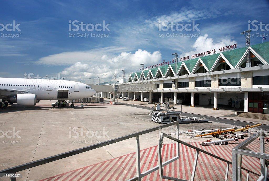 Phuket International Airport royalty-free stock photo