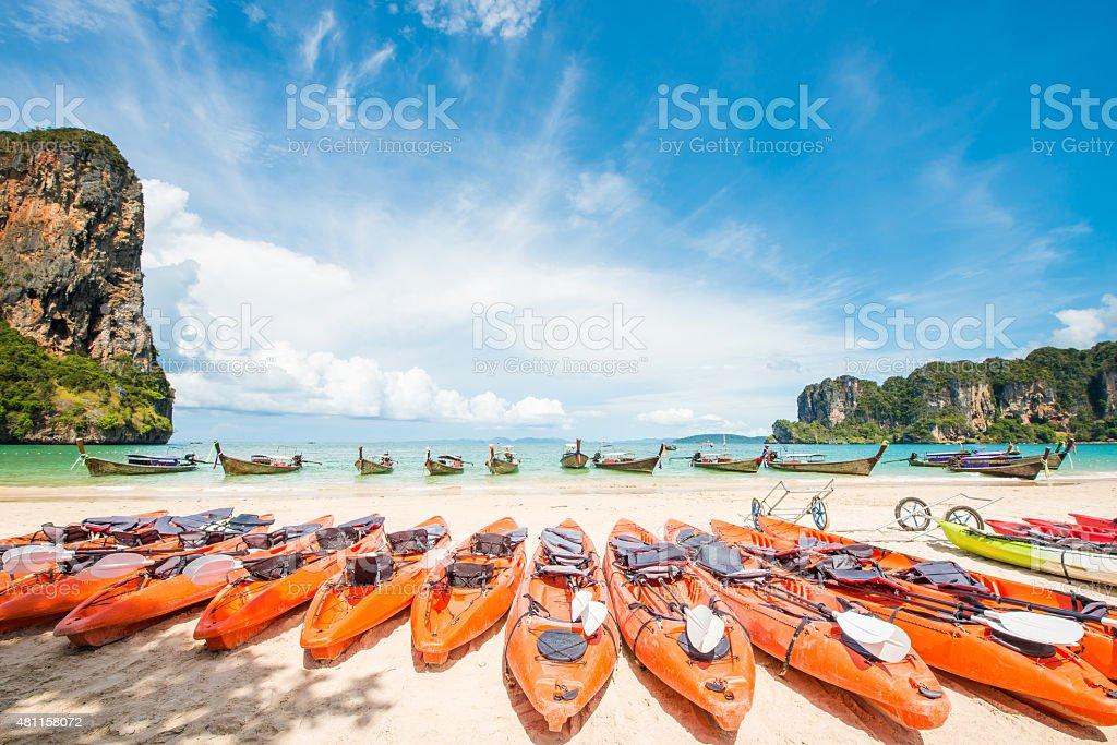Phuket James Bond island Phang Nga stock photo