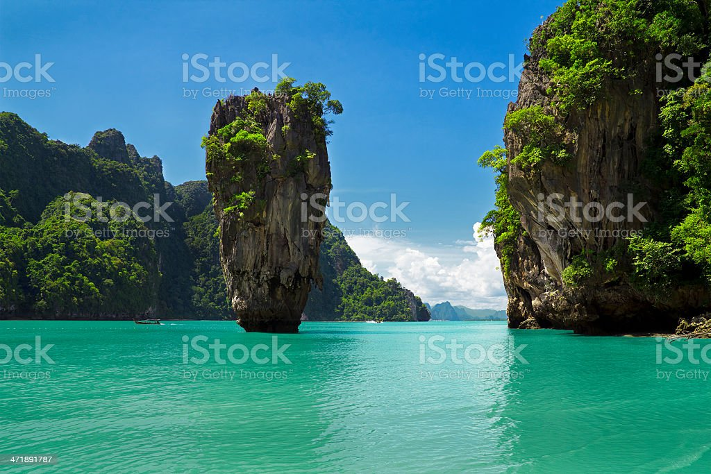 Phuket, Thailand James Bond Island stock photo