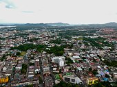 istock Phuket Town Thailand from above Khao Rang Hill by drone 1188889166