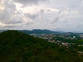 istock Phuket Town Thailand from above Khao Rang Hill by drone 1188889201