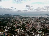 istock Phuket Town Thailand from above Khao Rang Hill by drone 1188889210