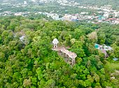 istock Phuket Town Thailand from above Khao Rang Hill by drone 1188889255