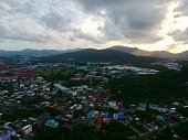 istock Phuket Town Thailand from above Khao Rang Hill by drone 1188889283