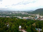 istock Phuket Town Thailand from above Khao Rang Hill by drone 1188889351