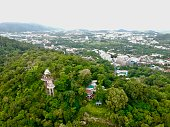 istock Phuket Town Thailand from above Khao Rang Hill by drone 1188889385