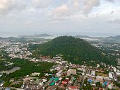 istock Phuket Town Thailand from above Khao Rang Hill by drone 1188889408