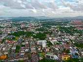 istock Phuket Town Thailand from above Khao Rang Hill by drone 1188889544