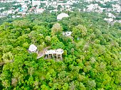 istock Phuket Town Thailand from above Khao Rang Hill by drone 1188889618