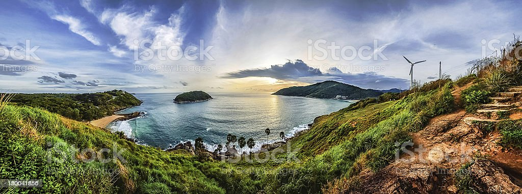 Phuket viewpoint stock photo
