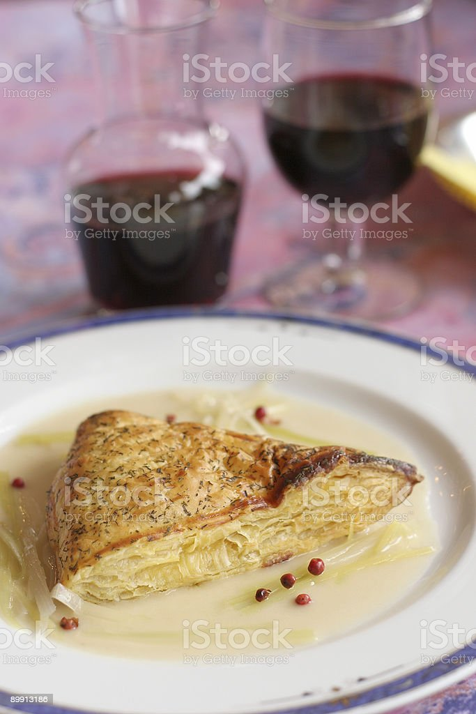 Phyllo Pastry stock photo